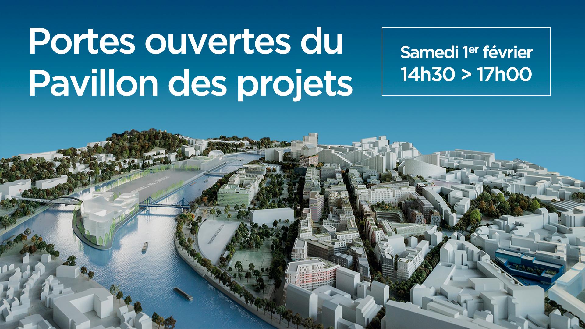 Programme Portes ouvertes - Pavillon des Projets 2020